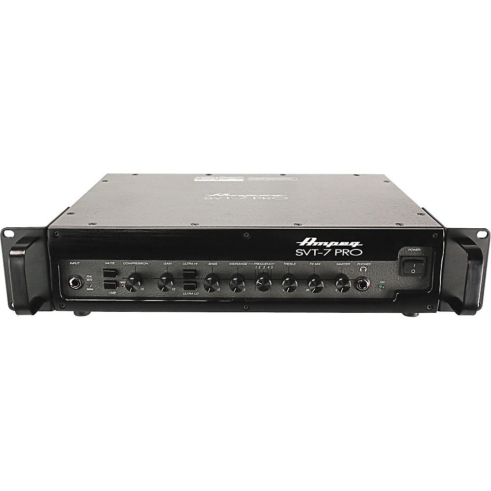 ampeg svt 7 pro 1000w bass head 1000 watt guitar amp. Black Bedroom Furniture Sets. Home Design Ideas