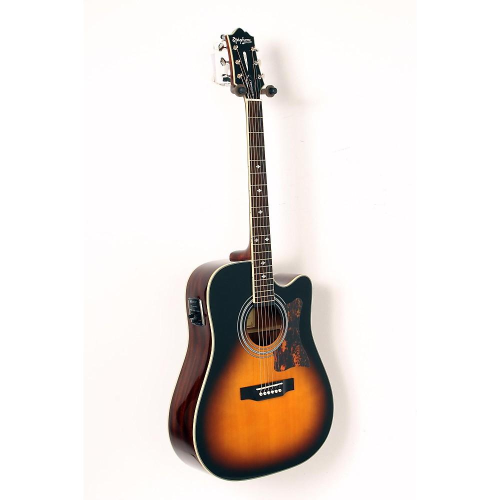 epiphone masterbilt dr 500mce acoustic elec guitar vintage sunburst 888365916880 ebay. Black Bedroom Furniture Sets. Home Design Ideas