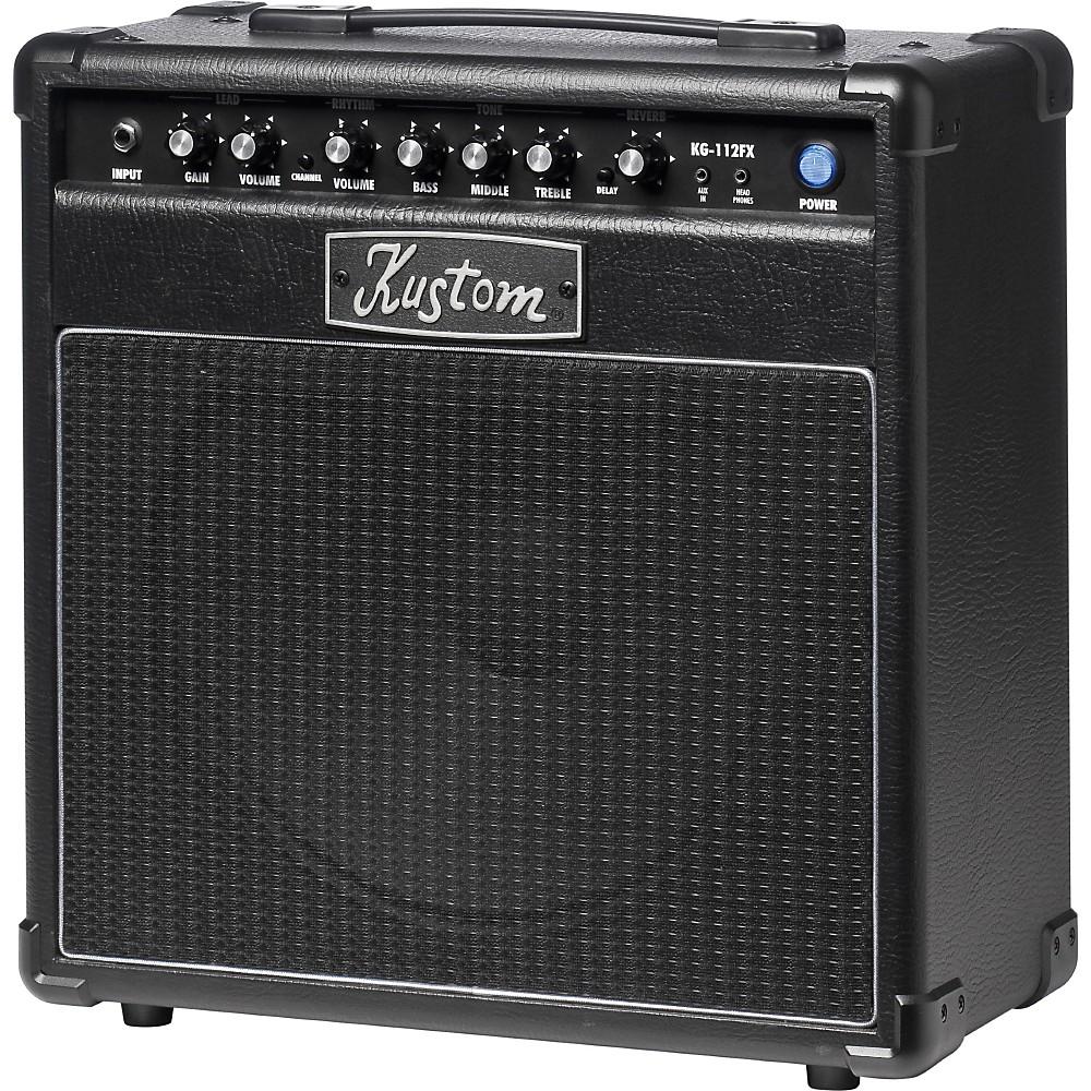 Kustom Guitar Amps : kustom kg112fx 20w 1x12 guitar combo amp with digital effects black ~ Russianpoet.info Haus und Dekorationen