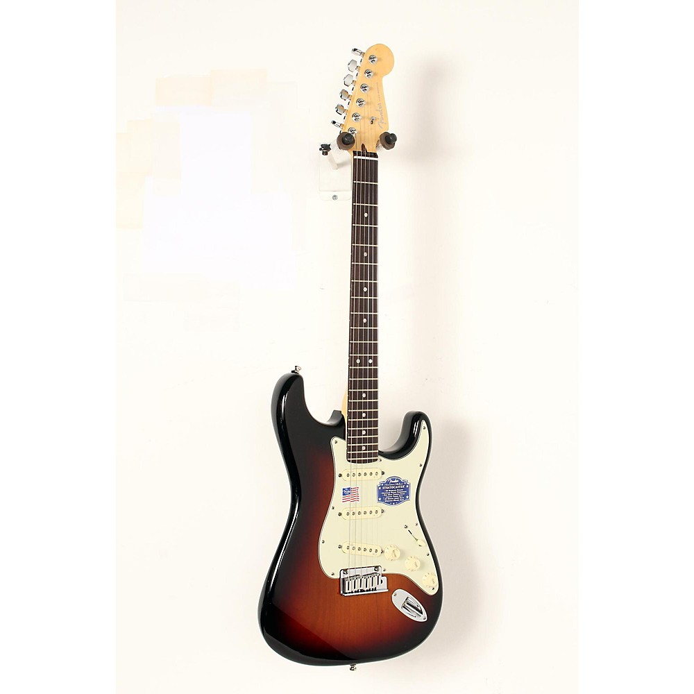 Used Fender American Deluxe Stratocaster Electric Guitar 3-Color Sunburst, Rosewood 190839063533 -  USED005097 0119000700