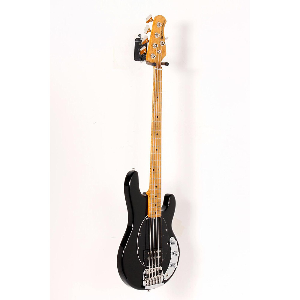 Music Man Classic Stingray 5 Electric Bass Guitar Black 888365174327