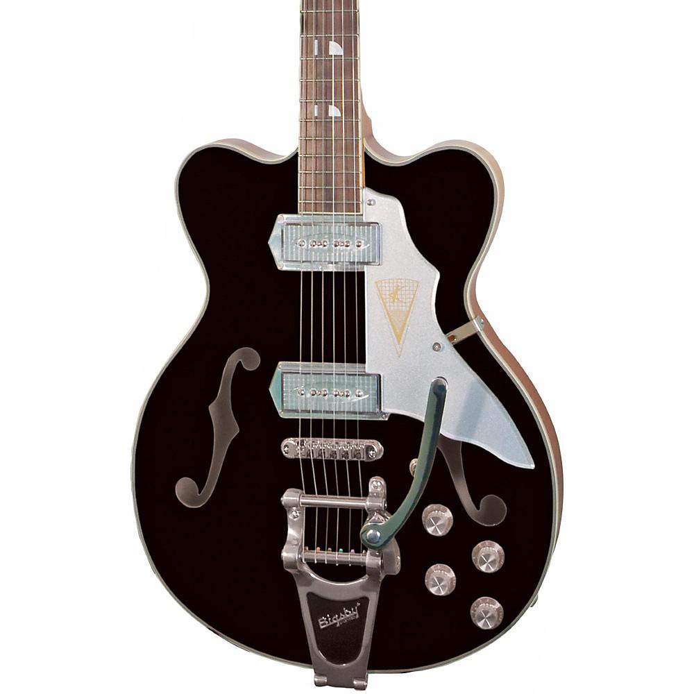 Kay Vintage Reissue Guitars Jazz Ii Electric Guitar Black