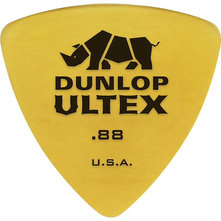 Dunlop 426P Ultex Rounded Triangle Guitar Picks 6 Pack .88MM 6-Pack