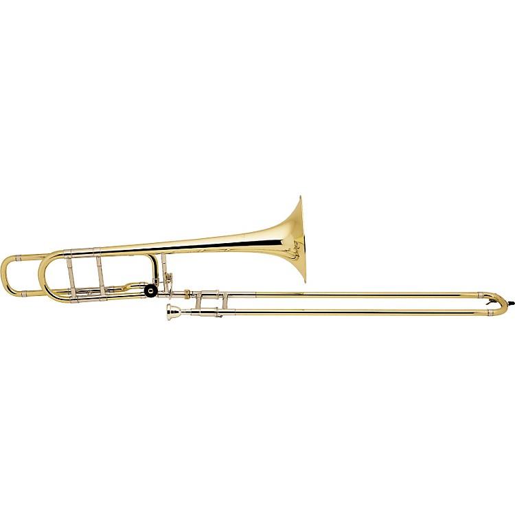 Bach42BO Stradivarius Series F Attachment TromboneLacquerGold Brass Bell Standard Slide