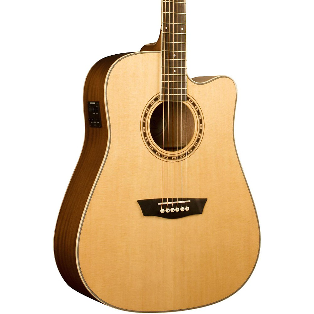 washburn wd10sce acoustic electric guitar ebay. Black Bedroom Furniture Sets. Home Design Ideas