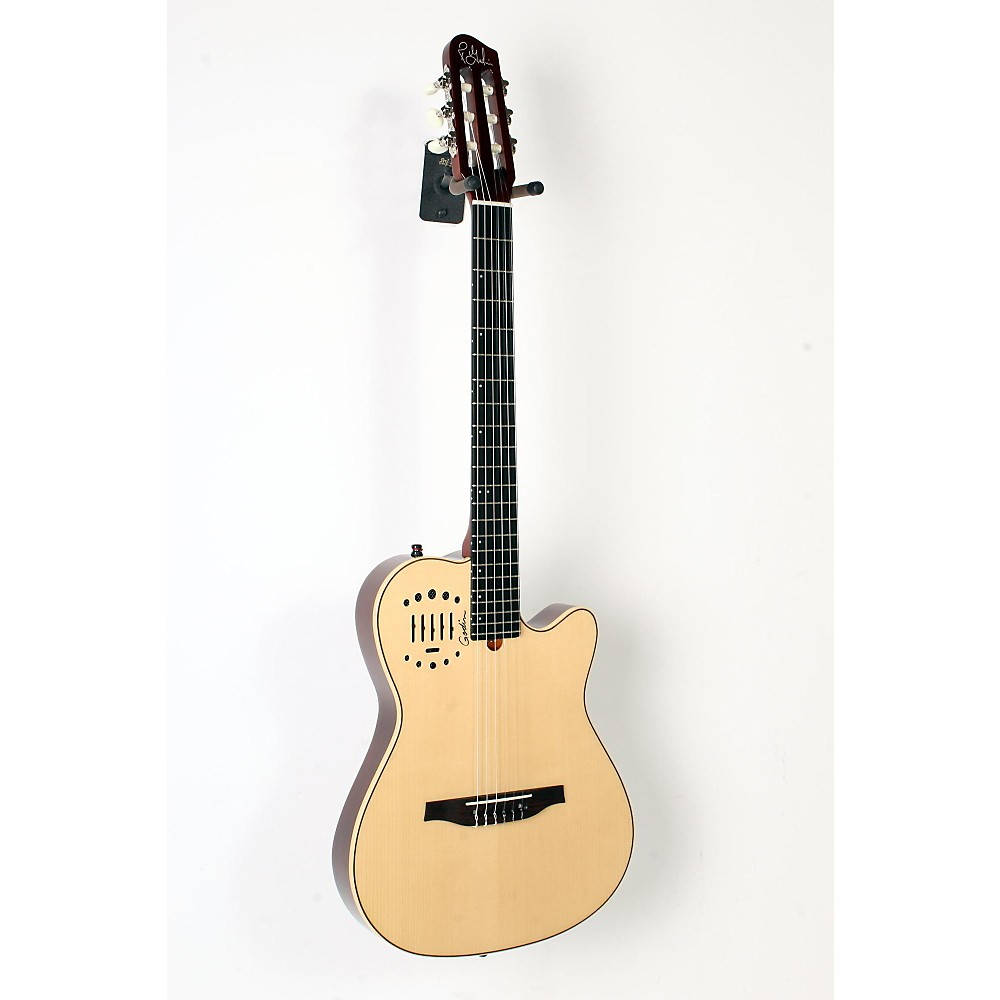 godin multiac nylon duet ambiance acoustic electric guitar natural 888365916033 623501032266 ebay. Black Bedroom Furniture Sets. Home Design Ideas