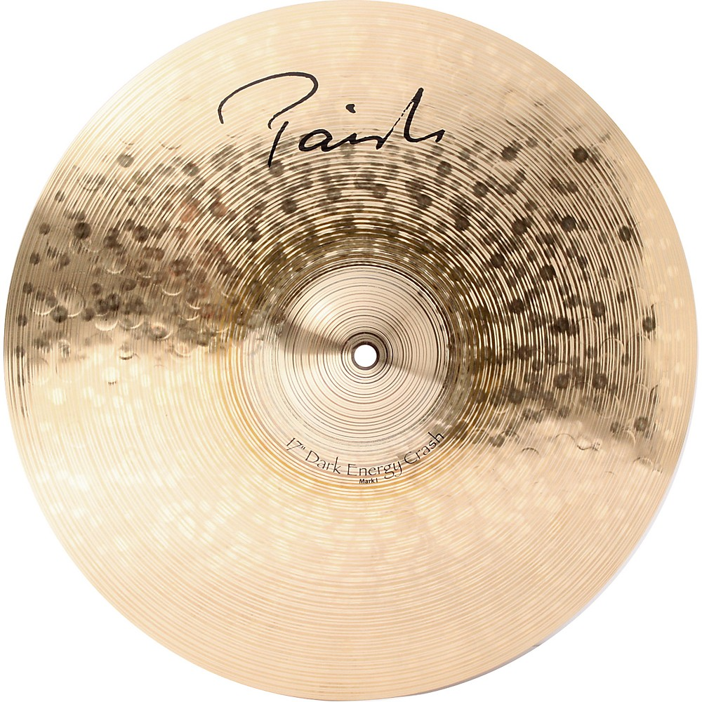 paiste signature series dark mki energy crash cymbal 17 in ebay. Black Bedroom Furniture Sets. Home Design Ideas