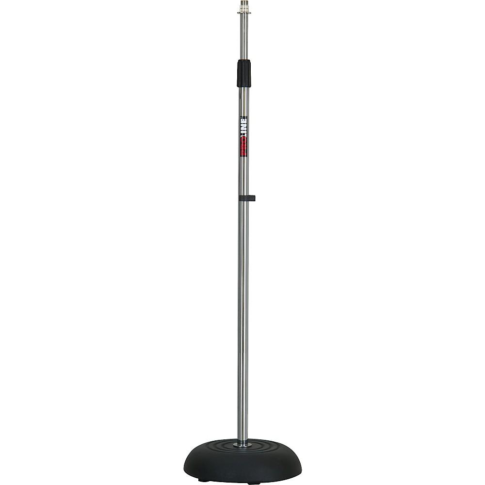 Proline Ms235 Round Base Microphone Stand Chrome Ebay