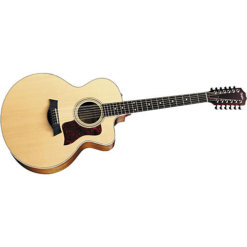 Taylor 455-CE 12-String Jumbo Cutaway Acoustic-Electric Guitar