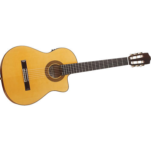 Cordoba 45FCE Cutaway Acoustic-Electric Classical Guitar