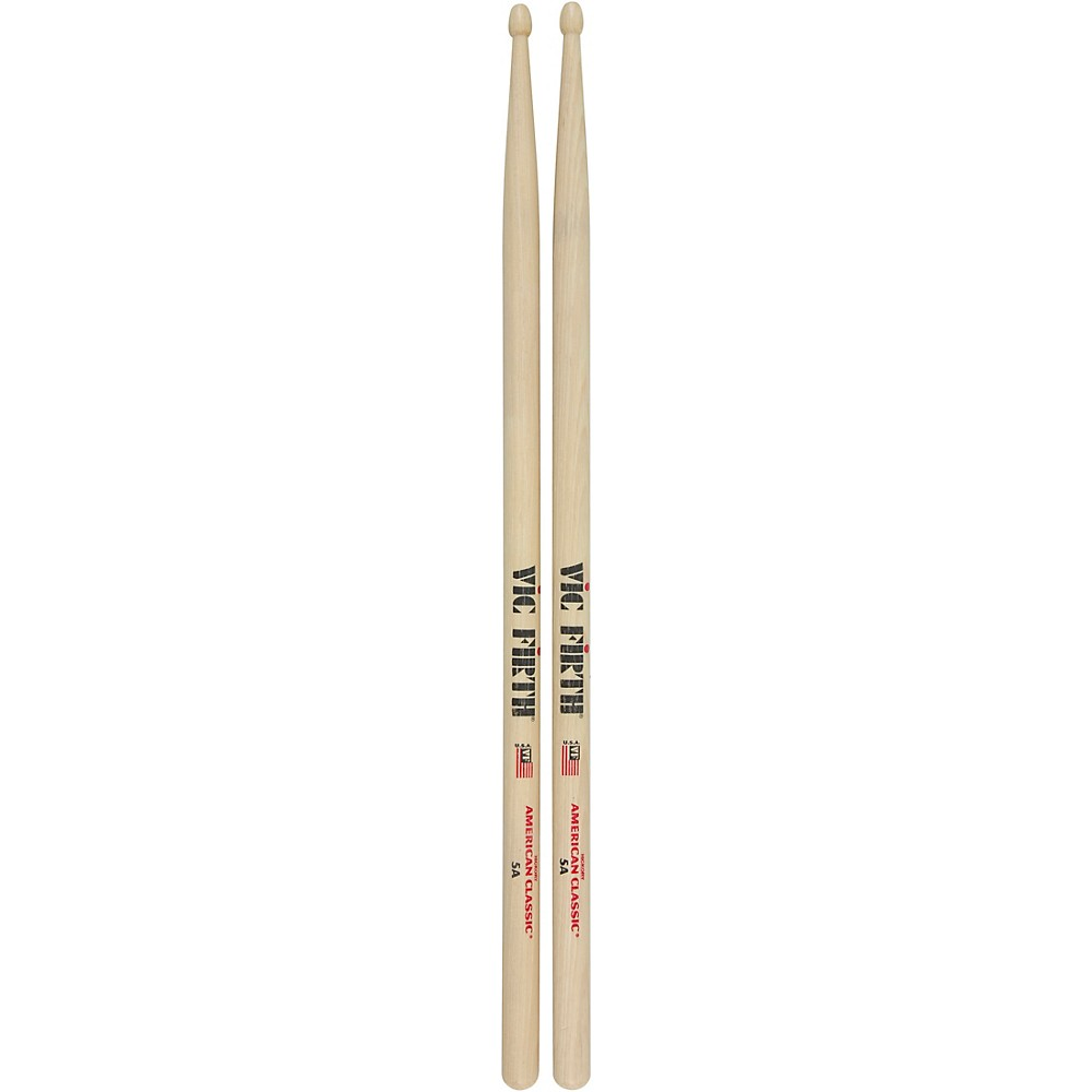 vic firth american classic 5a wood tip drum sticks 12pr ebay. Black Bedroom Furniture Sets. Home Design Ideas