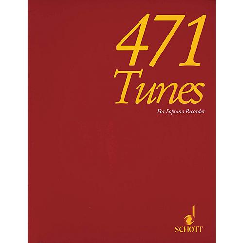 Schott 471 Tunes for Soprano Recorder Schott Series-thumbnail