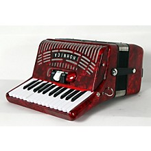 Hohner 48 Bass Entry Level Piano Accordion Level 2 Red 190839096852