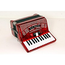 Hohner 48 Bass Entry Level Piano Accordion Level 2 Red 888365778341