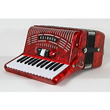 Hohner 48 Bass Entry Level Piano Accordion Level 2 Red 888366007013