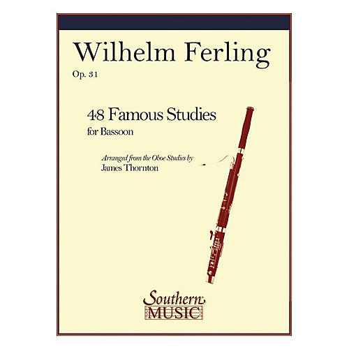 Southern 48 Famous Studies (Bassoon) Southern Music Series Arranged by James Thornton-thumbnail