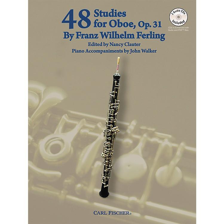 Carl Fischer48 Studies For Oboe Book/CD