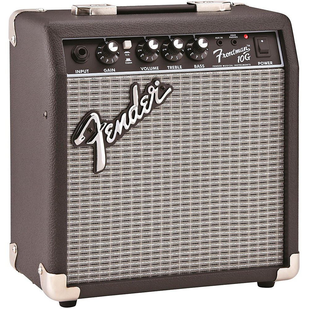 fender frontman 10g 10w guitar combo amp black 717669568771 ebay. Black Bedroom Furniture Sets. Home Design Ideas