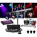 CHAUVET DJCHAUVET DJ 4BAR LT USB Wash Light System with Jam Pack Diamond and Party Effects Package