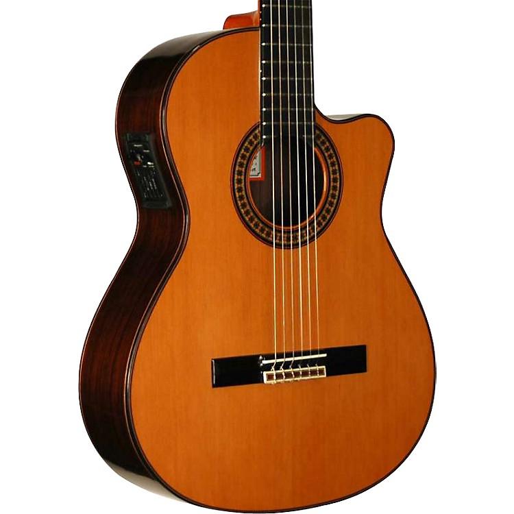 Jose Ramirez4CWE Classical Cutaway Acoustic-Electric Guitar