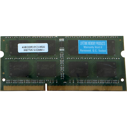Lifetime Memory Products 4GB MacBook/MacBook Pro DDR3