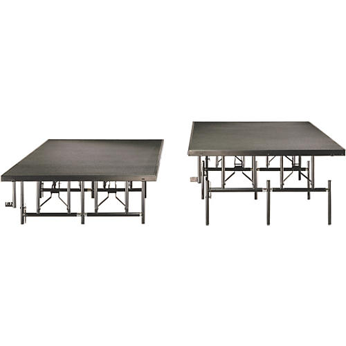 Midwest Folding Products 4x8 Dual-Height Portable Stage & Seated Riser
