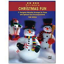Alfred 5 Finger Christmas Fun Piano Elementary