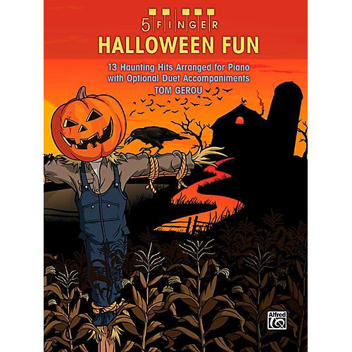 Alfred 5 Finger Halloween Fun: Five Finger Piano-thumbnail