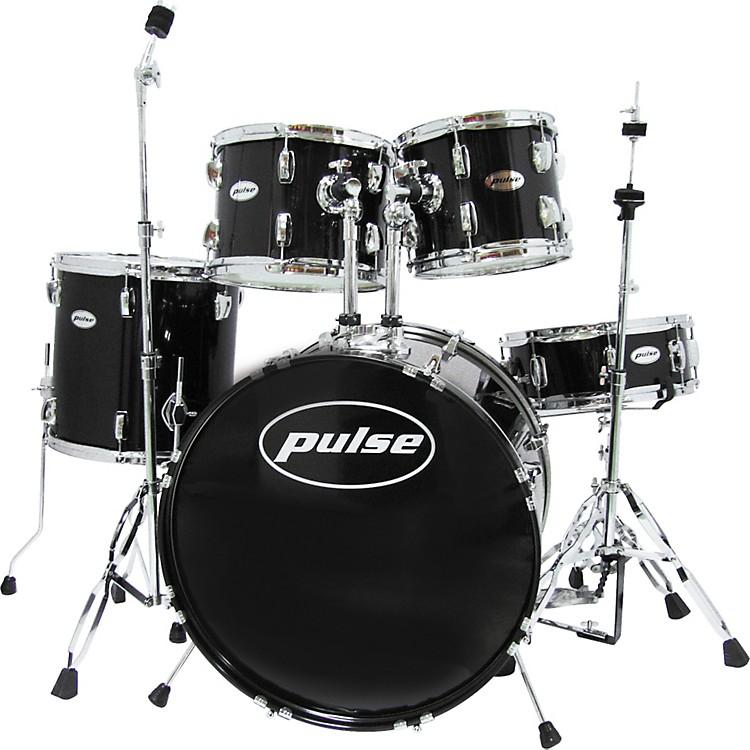 pulse 5 piece 22 10 12 14 drum set with hardware musician 39 s friend. Black Bedroom Furniture Sets. Home Design Ideas