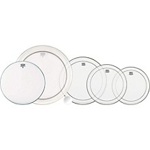 Remo 5-Piece Clear Pinstripe Drumhead Pack