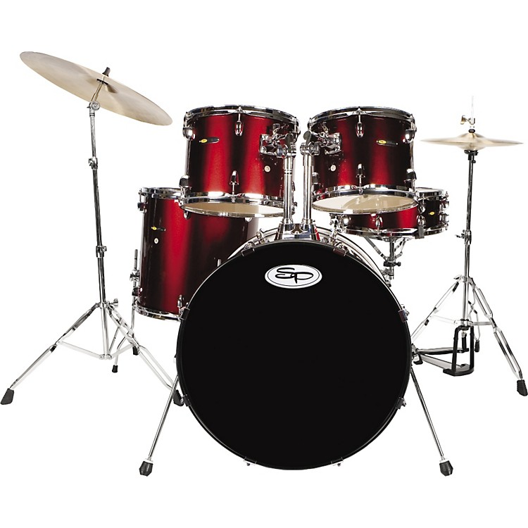 Sound Percussion5-Piece Drum Set with Cymbals