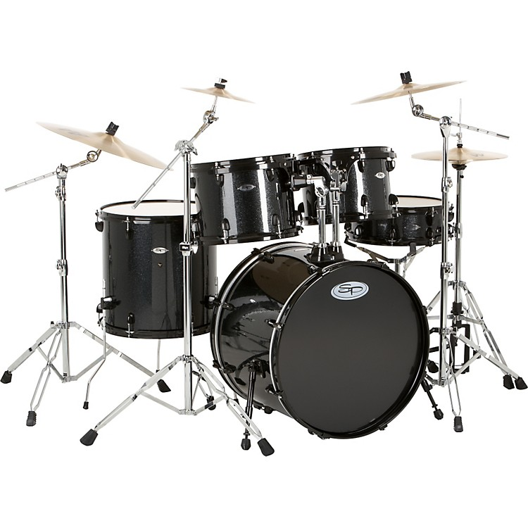 Sound Percussion5-Piece Pro Plus Shell PackBLACK SPARKLE
