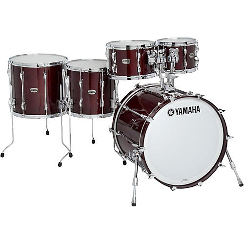 Yamaha 5-Piece Recording Custom Shell Pack Classic Walnut