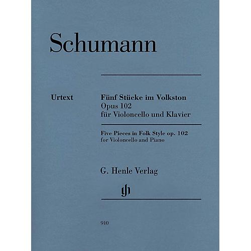 G. Henle Verlag 5 Pieces in Folk Style, Op. 102 Henle Music by Robert Schumann Edited by Ernst Herttrich-thumbnail