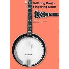 Music Sales 5-String Banjo Fingering Chart