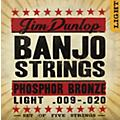 Dunlop 5-String Banjo Light Phosphor Bronze Strings  Thumbnail