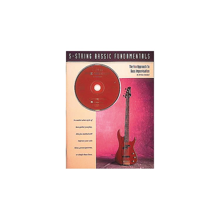 Hal Leonard 5-String Bassic Fundamentals Book/CD