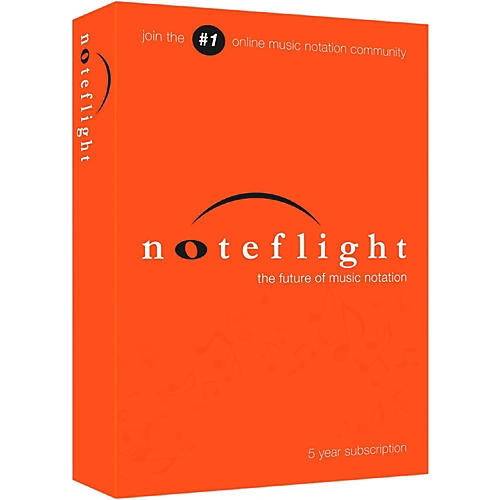 Noteflight 5-Year Subscription Download Software Download-thumbnail
