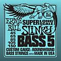 Ernie Ball 5-string Slinky Bass Strings Super Long Scale  Thumbnail