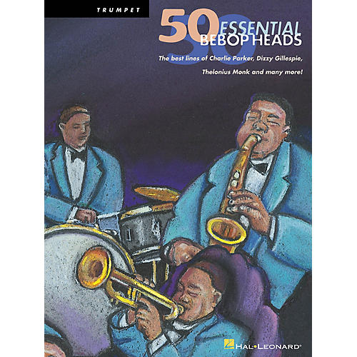 Hal Leonard 50 Bebop Heads for Alto Sax Instrumental Folio Series