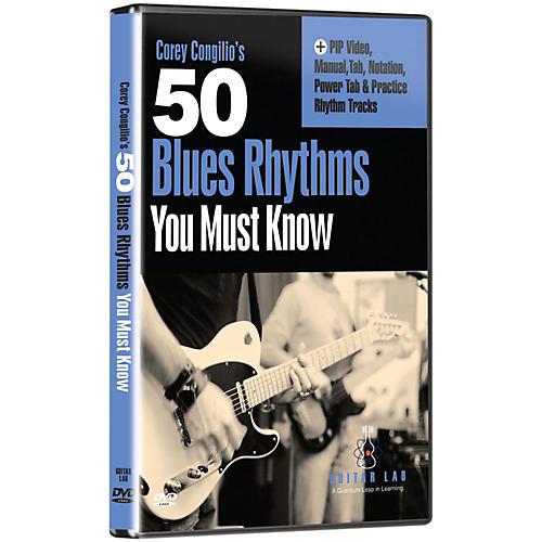 eMedia 50 Blues Rhythms You Must Know DVD