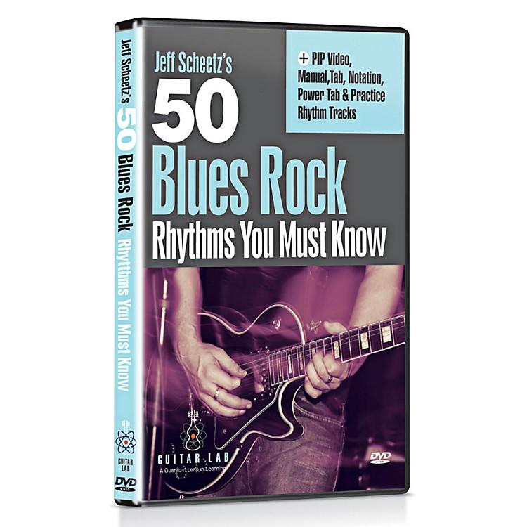 eMedia50 Blues Rock Rhythms You Must Know DVD