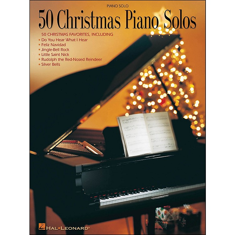Hal Leonard50 Christmas Piano Solos