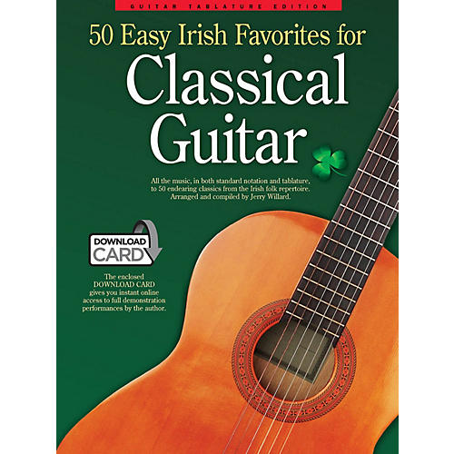 Wise Publications 50 Easy Irish Favorites for Classical Guitar Guitar Series Softcover Audio Online-thumbnail