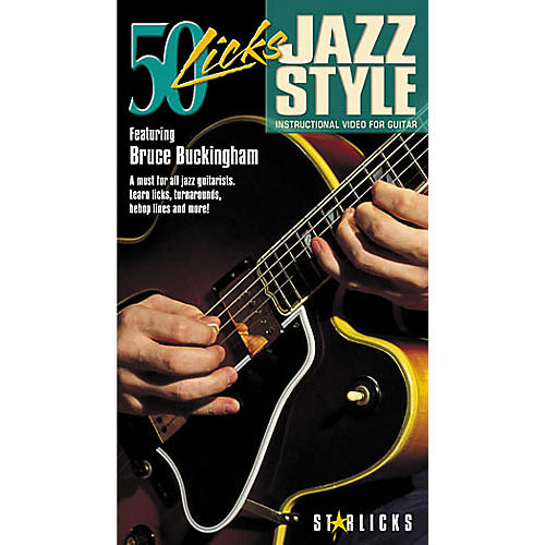 Hal Leonard 50 Licks Jazz Style Video
