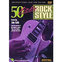 Hal Leonard 50 Licks Rock Style DVD