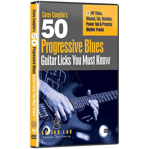 Emedia 50 Progressive Blues Licks You Must Know DVD-thumbnail