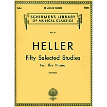 G. Schirmer 50 Selected Studies for Piano By Heller