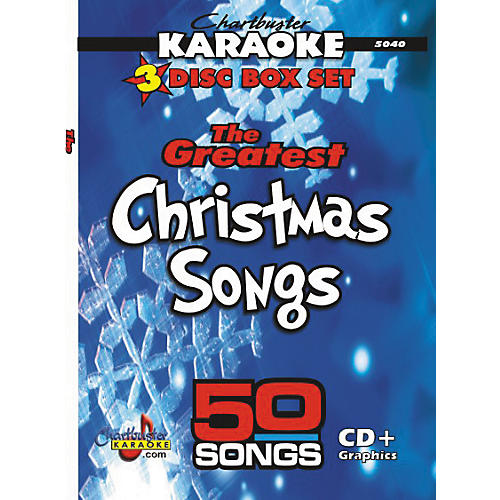 Chartbuster Karaoke 50-Song Pack: Greatest Christmas Songs CD+G Pro-thumbnail