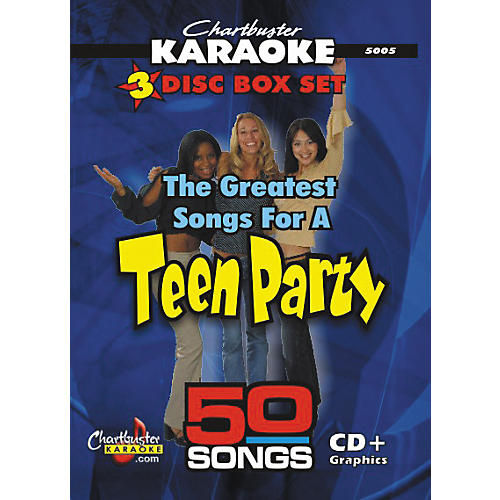 Chartbuster Karaoke 50 Song Pack: Greatest Songs for a Teen Party CD+G-thumbnail
